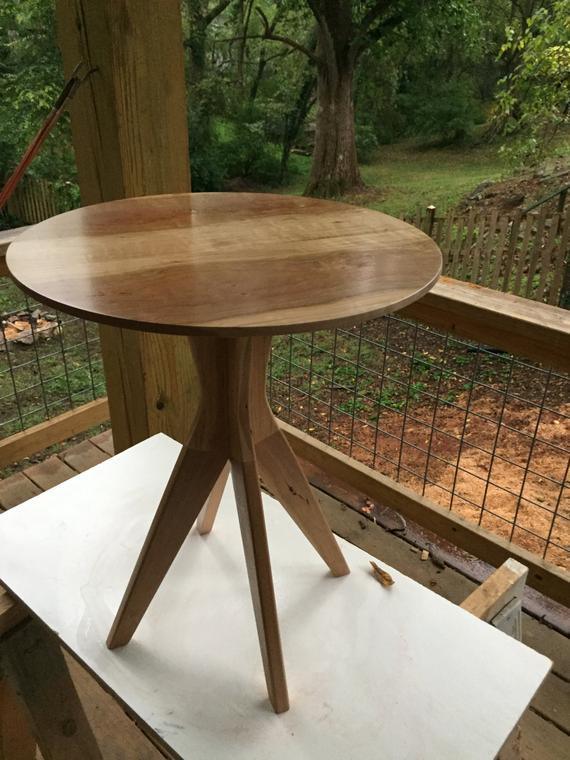 cherry pedestal table