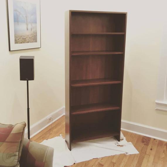 antique cherry bookshelf