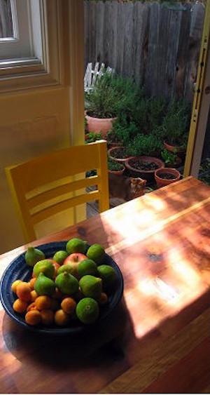 reclaimed cedar farm table