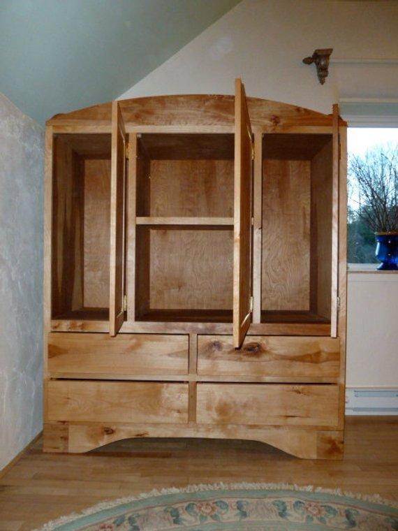 birch armoire