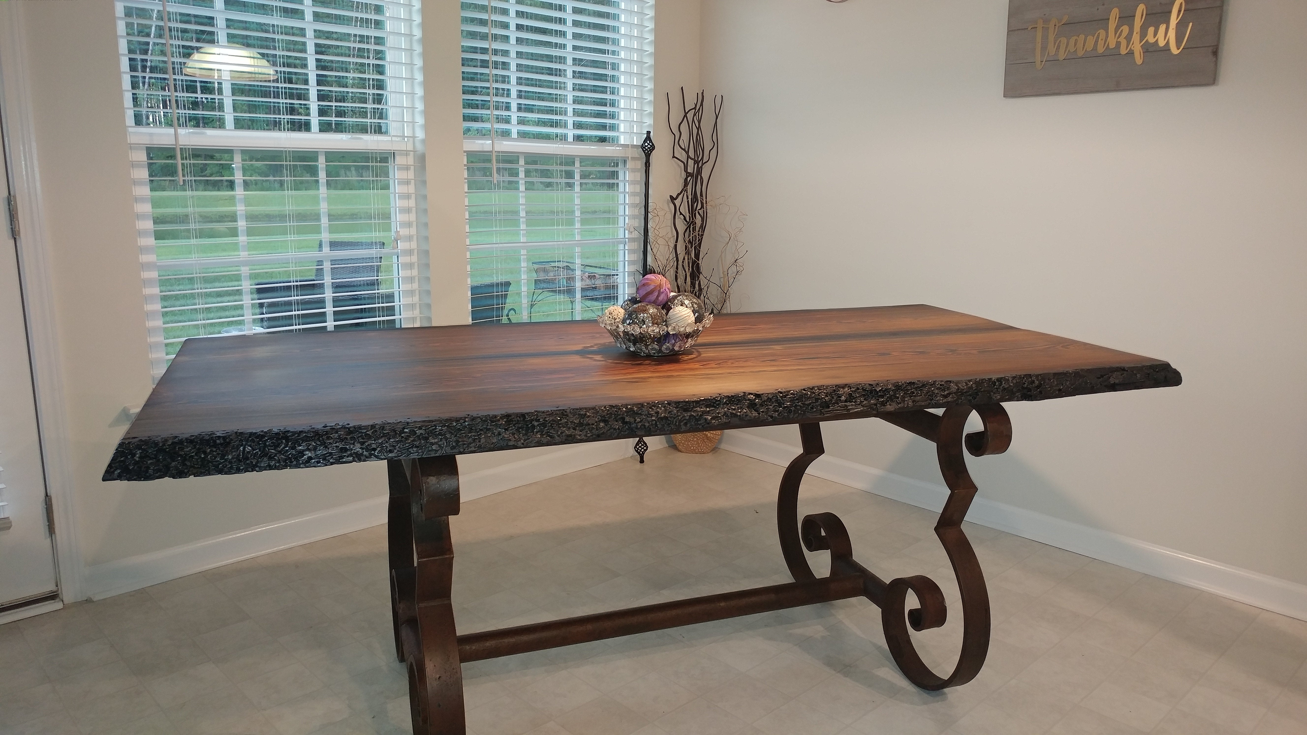swamp cypress dining table